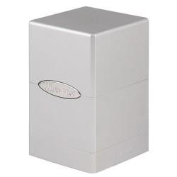 ULTRA PRO Porta mazzo Satin Tower Metallic Silver