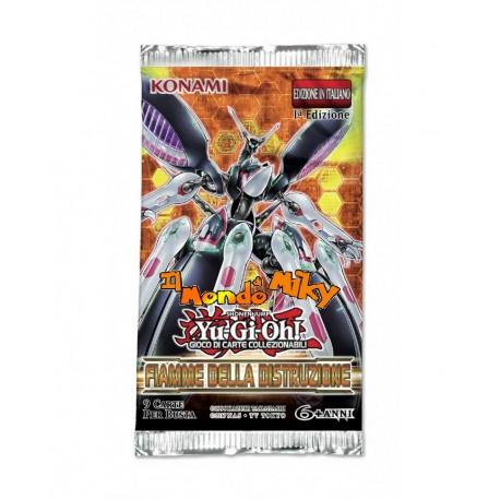 Yu-Gi-Oh! Fiamme della Distruzione 1a edizione BUSTA