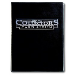 ULTRA PRO Portfolio 9 tasche 10 pagine Collectors card album Black
