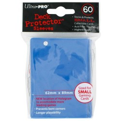 ULTRA PRO Proteggi carte mini pacchetto da 60 bustine 62mm x 89mm Blue