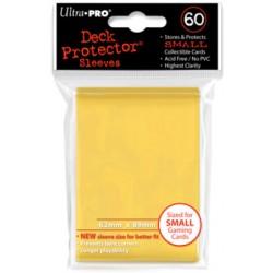 ULTRA PRO Proteggi carte mini pacchetto da 60 bustine 62mm x 89mm Giallo