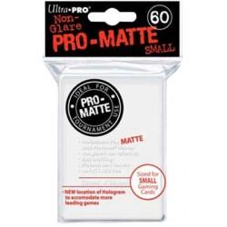 ULTRA PRO Proteggi carte mini pacchetto da 60 bustine 62mm x 89mm Pro-Matte Non-Glare White