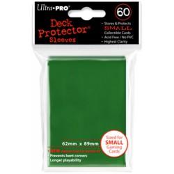 ULTRA PRO Proteggi carte mini pacchetto da 60 bustine 62mm x 89mm Verde