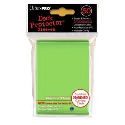 ULTRA PRO Proteggi carte standard pacchetto da 50 bustine 66mm x 91mm Lime Green