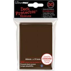 ULTRA PRO Proteggi carte standard pacchetto da 50 bustine 66mm x 91mm Marrone