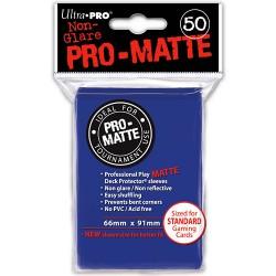 ULTRA PRO Proteggi carte standard pacchetto da 50 bustine Pro-Matte Non-Glare Blue