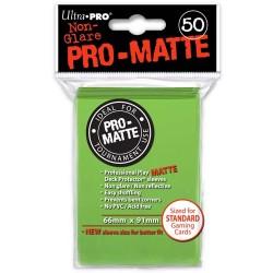 ULTRA PRO Proteggi carte standard pacchetto da 50 bustine Pro-Matte Non-Glare Lime Green