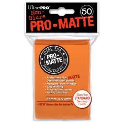 ULTRA PRO Proteggi carte standard pacchetto da 50 bustine Pro-Matte Non-Glare Orange