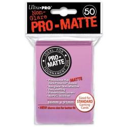 ULTRA PRO Proteggi carte standard pacchetto da 50 bustine Pro-Matte Non-Glare Pink