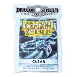 DRAGON SHIELD Proteggi carte mini pacchetto da 50 bustine Clear