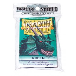 DRAGON SHIELD Proteggi carte mini pacchetto da 50 bustine Green