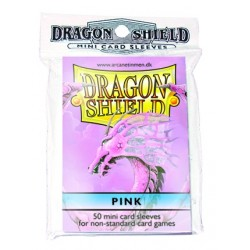 DRAGON SHIELD Proteggi carte mini pacchetto da 50 bustine Pink