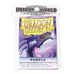 DRAGON SHIELD Proteggi carte mini pacchetto da 50 bustine Purple