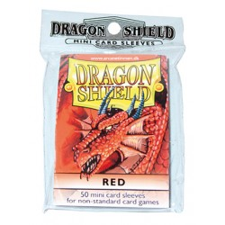 DRAGON SHIELD Proteggi carte mini pacchetto da 50 bustine Red