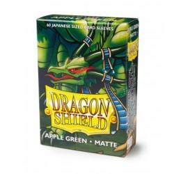 DRAGON SHIELD Proteggi carte mini pacchetto da 60 bustine Japanese Matte Apple Green