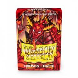 DRAGON SHIELD Proteggi carte mini pacchetto da 60 bustine Japanese Matte Crimson