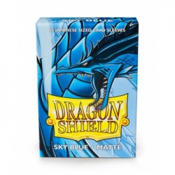 DRAGON SHIELD Proteggi carte mini pacchetto da 60 bustine Japanese Matte Sky Blue