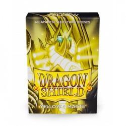 DRAGON SHIELD Proteggi carte mini pacchetto da 60 bustine Japanese Matte Yellow