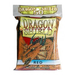 DRAGON SHIELD Proteggi carte standard pacchetto da 50 bustine Red