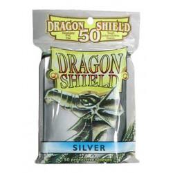 DRAGON SHIELD Proteggi carte standard pacchetto da 50 bustine Silve