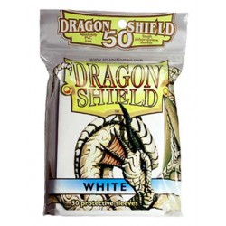 DRAGON SHIELD Proteggi carte standard pacchetto da 50 bustine White