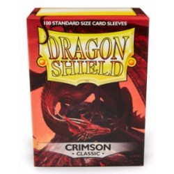 DRAGON SHIELD Proteggi carte standard pacchetto da 100 bustine Crimson