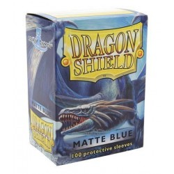 DRAGON SHIELD Proteggi carte standard pacchetto da 100 bustine Matte Blue
