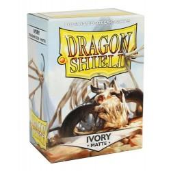 DRAGON SHIELD Proteggi carte standard pacchetto da 100 bustine Matte Ivory