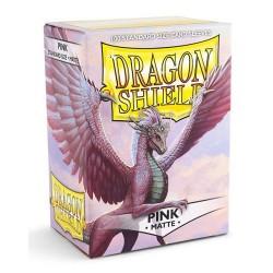 DRAGON SHIELD Proteggi carte standard pacchetto da 100 bustine Matte Pink
