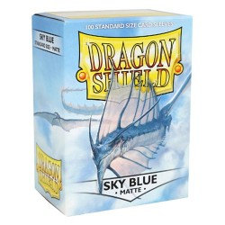DRAGON SHIELD Proteggi carte standard pacchetto da 100 bustine Matte Sky Blue