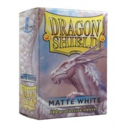 DRAGON SHIELD Proteggi carte standard pacchetto da 100 bustine Matte White