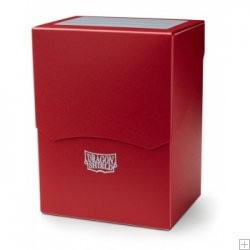 DRAGON SHIELD Porta mazzo verticale Red