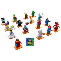 Lego MInifigures serie 18 da 16 pezzi