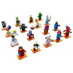 Lego Minifigures serie 18 da 17 pezzi completa