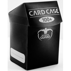 ULTIMATE GUARD Porta mazzo verticale per 100 carte standard imbustate Card Case 100+ Black