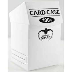 ULTIMATE GUARD Porta mazzo verticale per 100 carte standard imbustate Card Case 100+ White
