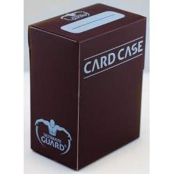 ULTIMATE GUARD Porta mazzo verticale per 75 carte standard imbustate Card Case Brown
