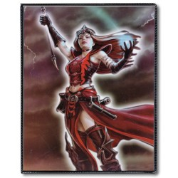 MAX PROTECTION Portfolio 4 tasche 14 pagine Mistress of the Elements