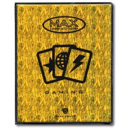 MAX PROTECTION Portfolio 4 tasche 14 pagine Wave Yellow