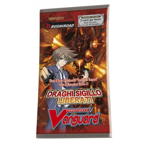 Cardfight!! Vanguard Busta 5 carte: Draghi Sigillo Liberati