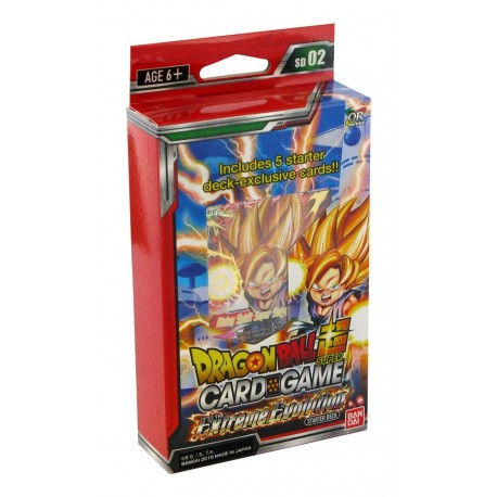 Super Starter Deck 02 The Extreme Evolution  (EN)