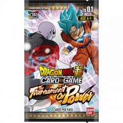 Dragon Ball Super Themed 01 Tournament of Power box  24 buste