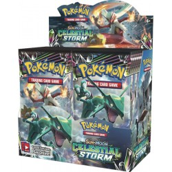 Pokemon Sun and Moon Celestial Storm box 36 buste