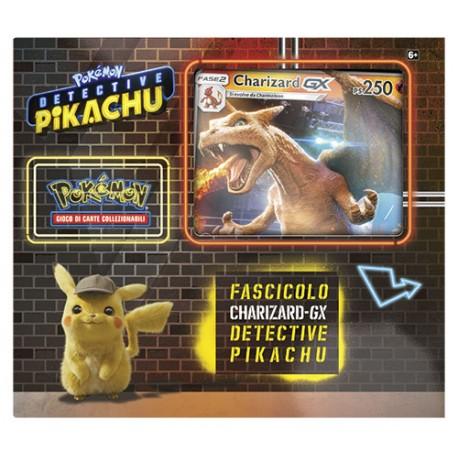 Detective Pikachu Fascicolo Charizard- GX