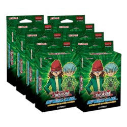 Speed Duel Starter Deck: Predatori Definitivi 1a edizione display 8 starter deck