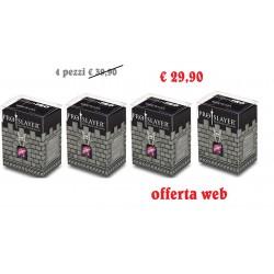 ULTRA PRO Porta mazzo verticale + 100 proteggi carte standard Pro-Slayer Black 8/48