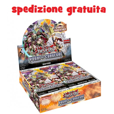 Yu-Gi-Oh! Pugni dei Congegni 1a ed box 24 buste