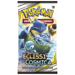 Pokemon Sole e Luna Eclissi Cosmica 18 buste italiano