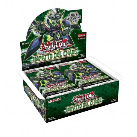 Yu-Gi-Oh! Impatto del Chaos 1a ed box 24 buste