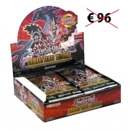 Yu-Gi-Oh! Combattenti Mistici 1a edizione box 24 buste